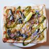 「北海道産真イワシサーディンとジェノベーゼのピザ」のご紹介