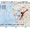 2017年07月27日 03時51分 橘湾でM2.7の地震