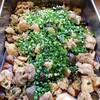 鶏肉と茄子のピリ辛煮 (6/28のランチ)