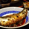 豊洲の「米花」でニシンの有馬煮、牡蠣味噌、つくねすき煮。