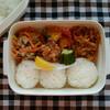 豚こま肉のゴマ味噌野菜炒め弁当