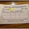 約1年ぶりの歯医者さん訪問。イギリスの歯医者さんは治療費が高いっ!