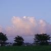 7月29日の夕陽雲&今日の独り言