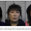 "Police arrest 3 Georgia women, Kim, Yi and Kwak for online ads ""massage parlor"" prostitution"