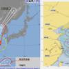 【台風13号の進路・台風の卵】台風13号『レンレン』は6日15時現在では東シナ海にあって、『非常に強い』勢力を維持!気象庁の予想では8日15時には温帯低気圧に変わる見込み!日本の南東には台風15号・南には台風16号の卵も存在!