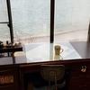 片付けたアウトドア機具の部屋