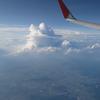 飛行機の窓から Vol.2 < 雲の上の空 国内線>