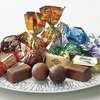高島屋でチョコを選ぶ