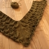 すずらんのショール~模様編みDを楽しみながら乗り越える