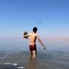 【ヨルダン】浮遊できる湖、死海でなら列海王みたいに水上を走れるのか