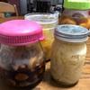 冷蔵庫の中の保存食