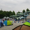 プールに行く 『亀岡運動公園プール』 ~プール難民、曇天の中、今年2番目のプールです。~