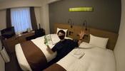 650円で宿泊!【スマイルホテルプレミアム札幌すすきの】お部屋紹介 サッポロ夏割&GOTOトラベル併用