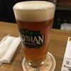 大阪に赴任してもビール飲んでる