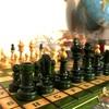 「木製チェスセットと魅力的な駒達」#1 ポーン編