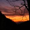 冬の初めに琴石山で御来光登山