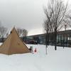 【スノーピーク】周辺で寄り道 キャンプ場~神社~白鳥