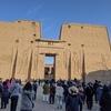 ナイル川クルーズとエジプト満喫8日間 エドフへ向け出航 エスナの水門 ホルス神殿