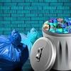 (未来予想)ゴミ袋タグ