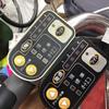 電動アシスト自転車のスイッチパネルは経年劣化あります。