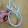 基本のロープワーク(もやい結び、自在結び)
