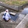 卓上カレンダーの11月は「木津温泉 野菜洗いの湯」