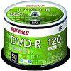バッファロー DVD-R 1回録画用 4.7GB 50枚 スピンドル 片面 1-16倍速 ホワイトレーベル RO-DR47V-050PW/N