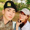 BoA、入隊中の SHINeeキーと再会『軍服がよく似合うね』