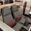 カタール航空 Qスイート ビジネスクラス〈QR813 羽田=ドーハ〉