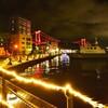 若戸大橋のライトアップが想像以上にきれいだった 福岡県北九州市