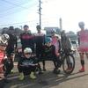 ロードバイク - チーム周回練 / カレー鍋