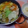 夕食:ひとり鍋…