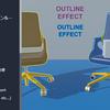 【Unity】コンポーネントをアタッチするだけでアウトラインシェーダが使用できる「Outline Effect」紹介(無料)