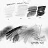 【photoshop】クレヨン・鉛筆・木炭風のブラシセット