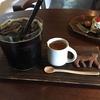 ゆぱんきのアイスコーヒーと季節のフルーツのタルト(弘前市)