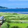 盛夏の五能線撮影(1):鳴沢,大戸瀬の涼やかな朝。