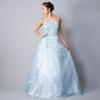 コンサートで着用されるカワセミのような青色のドレスを買われたお客様のご感想