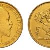 イギリス 1902年エドワード7世5ポンド金貨