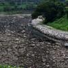 打保ダムの放水が止まりました