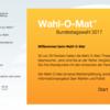 これだけやっとけ!ドイツ連邦議会選挙前にWahl-O-Mat