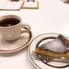 バスク風チーズケーキ。