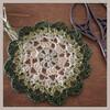 編み図|懐かしのドイリー