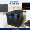 DAC M100(S.M.S.L.) 基本特性測定(f特 100kHz超、正弦波観測)