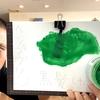 【エンシェールズカラーバター】ヘンプグリーンでブリーチなしの黒髪に染めてみた