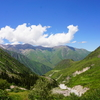 キルギス・アラアルチャ国立公園で日帰りトレッキング