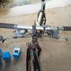 だいぶ昔の自転車を修復中・・・ブレーキレバーとシフトレバーを交換