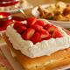 野田琺瑯のバットで作る四角いケーキ