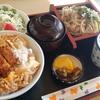 YRP野比【やぶ善】かつ丼セット ¥900(税別)