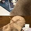 生徒さんからもハンドメイド作品が届きました!クリムトを表現した毛糸エミーリエ
