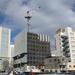 仙台南町通り、早くも最上階まで鉄骨が組みあがった「ミレーネT仙台ビル」の建設状況(2021年1月)